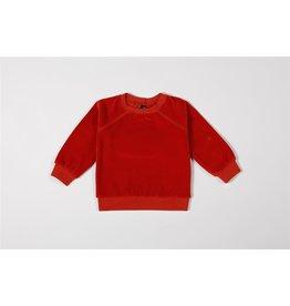 Mundo Melocotón Sweater Organic Velvet Chili