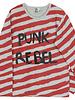 Six Hugs & Rock 'n Roll T-shirt   Punk rebel