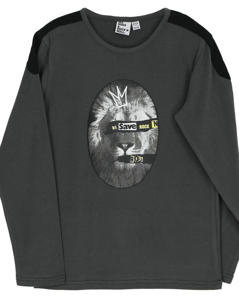 Six Hugs & Rock 'n Roll T-shirt | Save rock