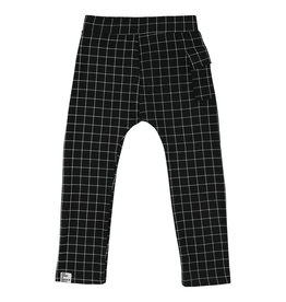 Six Hugs & Rock 'n Roll Sweatpants | Black lines