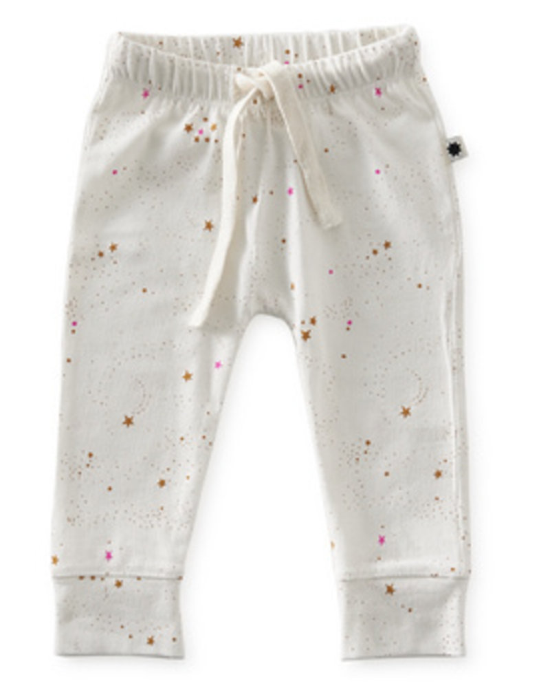 Little Label Loose fit | Off white caramel stars