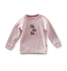 Little Label Sweater raglan | Violet