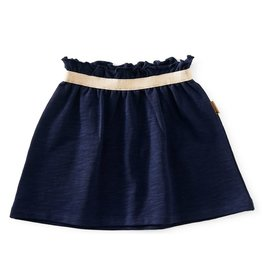 Little Label Sweatskirt | Dark blue