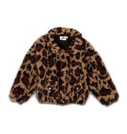 Cos I said so Bomber jacket - Leopard teddy