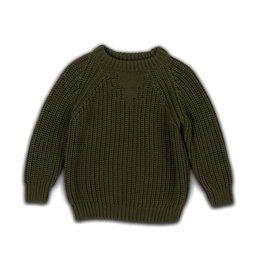 Cos I said so Basic Chunky Knitwear Forest