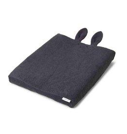 Liewood Egon   Verschoningskussenhoes   Rabbit dark grey