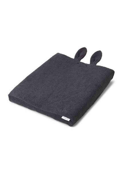 Liewood Egon | Verschoningskussenhoes | Rabbit dark grey