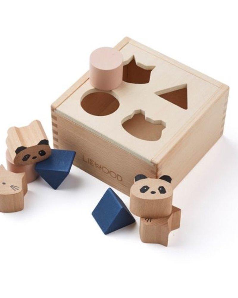 Liewood Mateo houten vormenpuzzel
