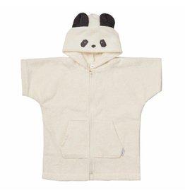 Liewood Lela cape met rits - Panda creme de la creme 1-2j