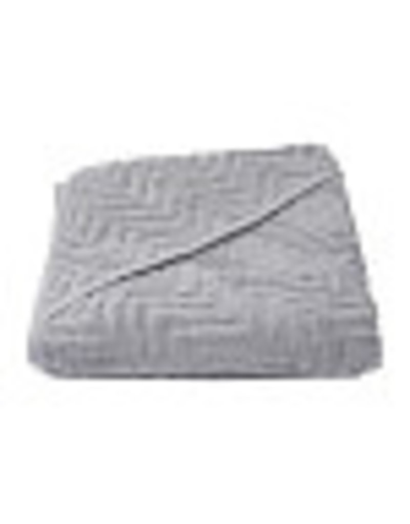 Filibabba Badcape zigzag grijs