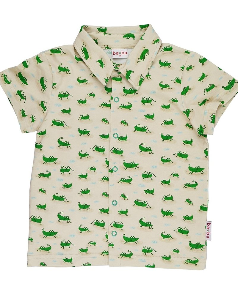 ba*ba babywear Hemdje | Grasshopper