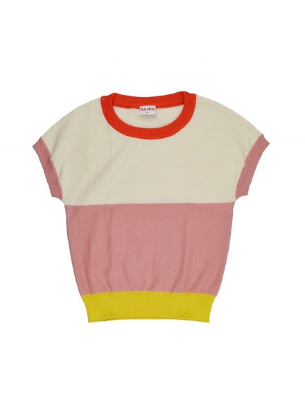ba*ba babywear Knitwear Top | Sweet Rose