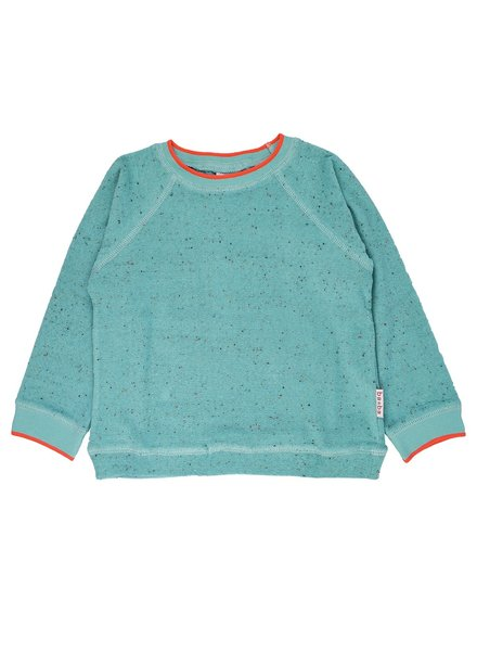 ba*ba babywear Sweater Speckled Terry | Aqua