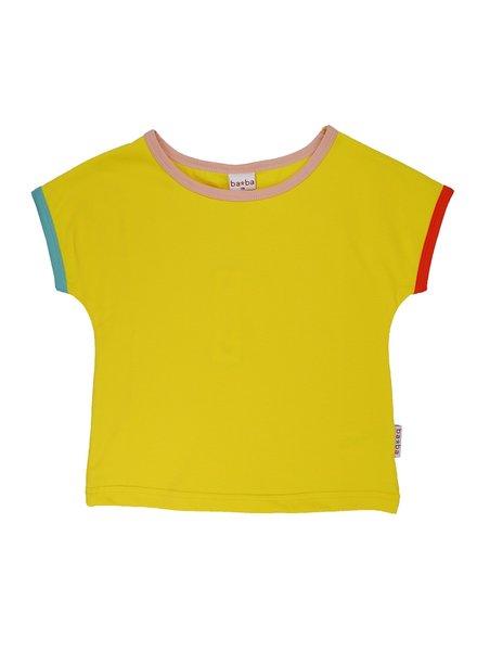 ba*ba babywear Multicolor T-shirt | Lemon