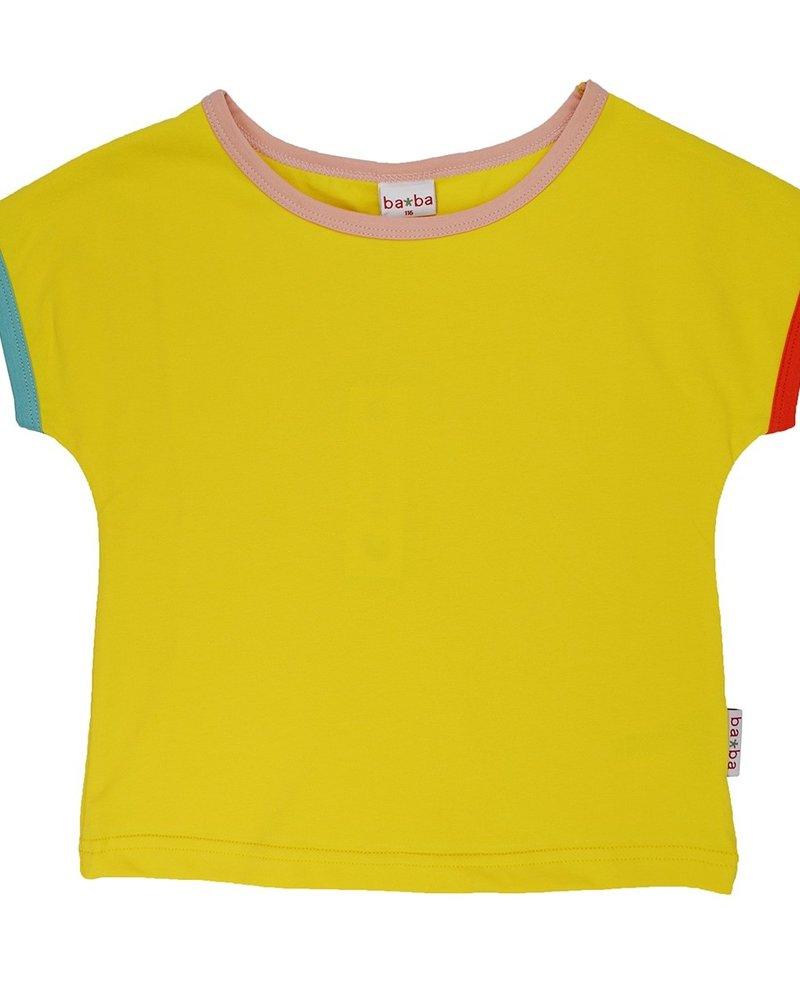 ba*ba babywear Multicolor T-shirt | Lemon