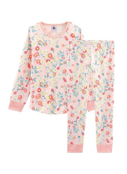 Petit Bateau Pyjama met bloemen