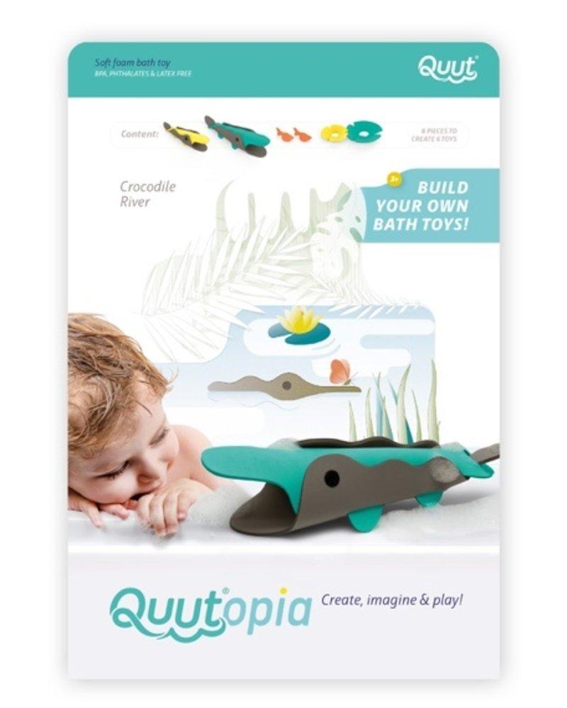 Quutopia 3D Badpuzzel | Crocodile river