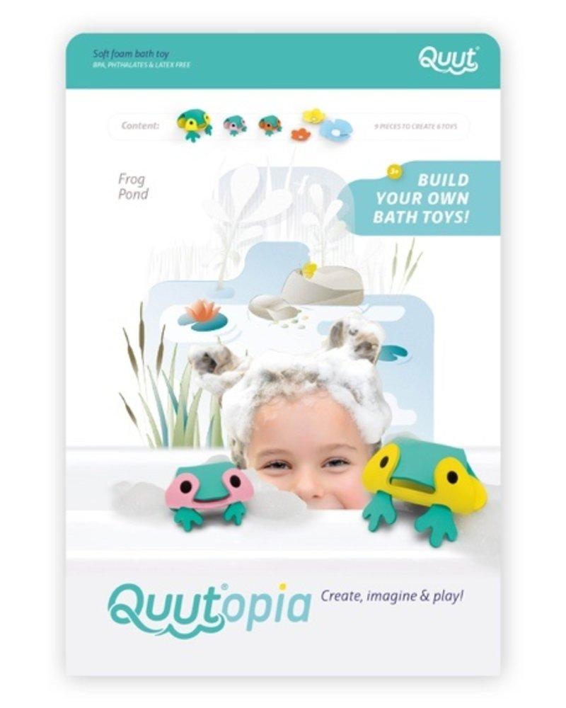 Quutopia 3D Badpuzzel | Frog pond