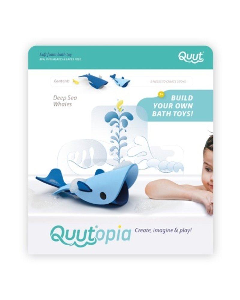 Quutopia 3D Badpuzzel | Deep sea whales