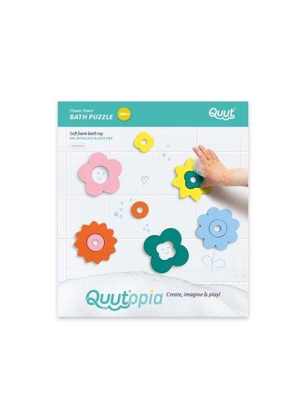 Quutopia Badpuzzel | Flower power