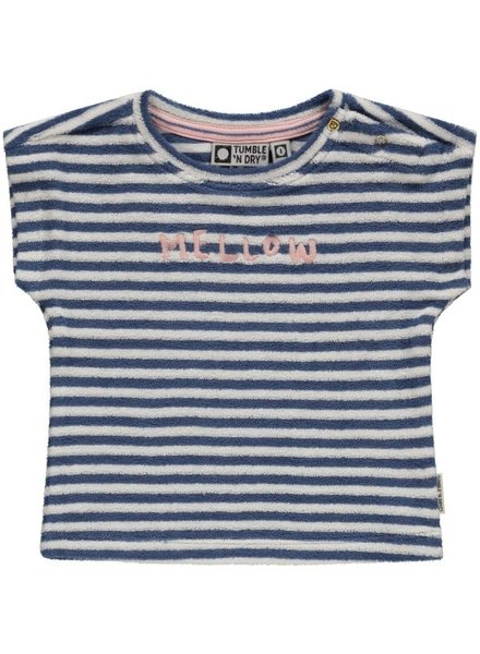 Tumble 'n Dry T-shirt in spons Mariette | Snow white