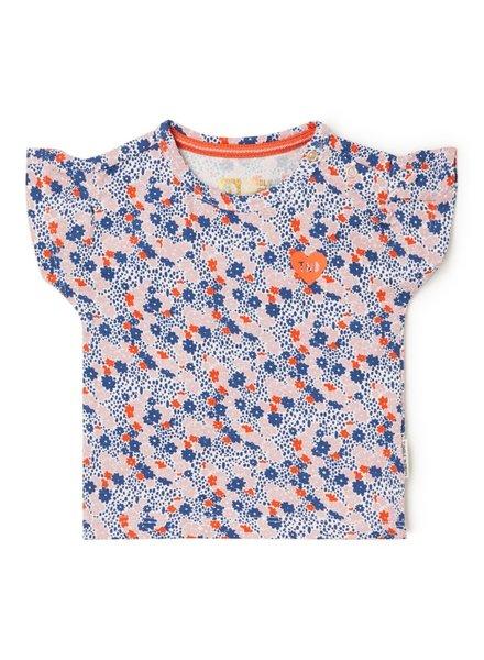 Tumble 'n Dry Gebloemd T-shirt Margot