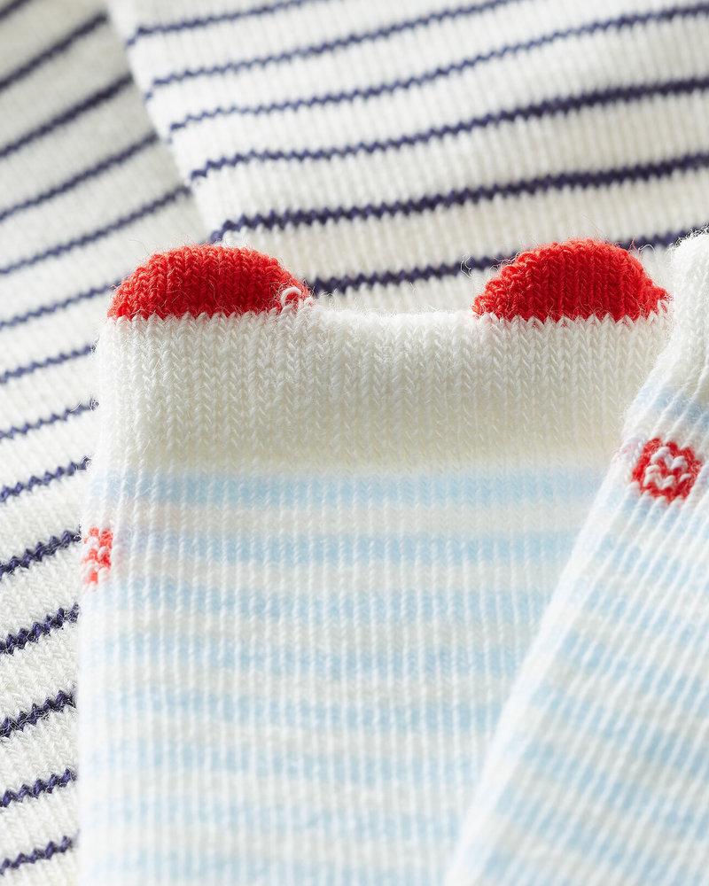 Petit Bateau 2 paar sokken | Streepjes
