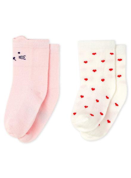 Petit Bateau 2 paar sokken | Hartje & snoetje