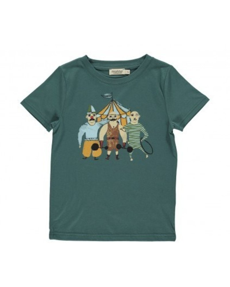 MarMar T-shirt Ted | Darkest Teal