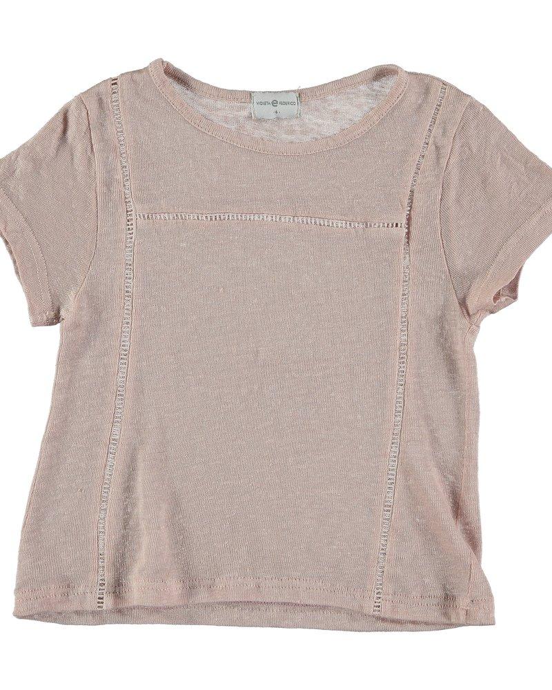 Violeta e Federico T-Shirt Vai | Pink