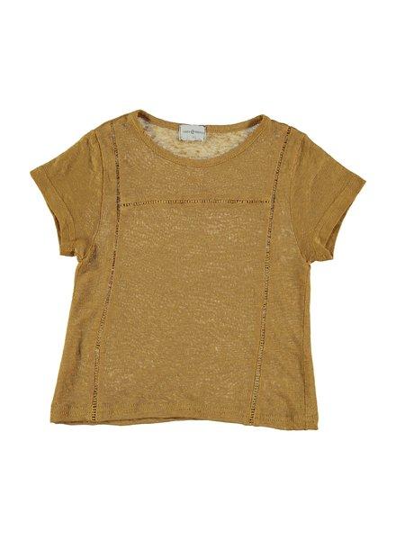 Violeta e Federico T-Shirt Vai | Mustard