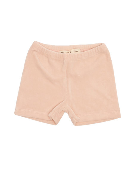 onnolulu Velours shortje Ben | Pink