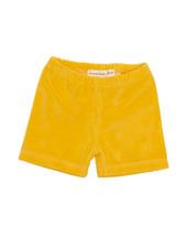 onnolulu Velours shortje Ben | Yellow