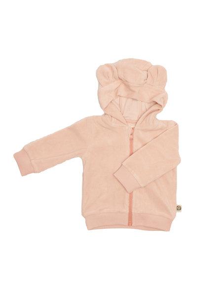 onnolulu Velours hoodie Balou | Pink