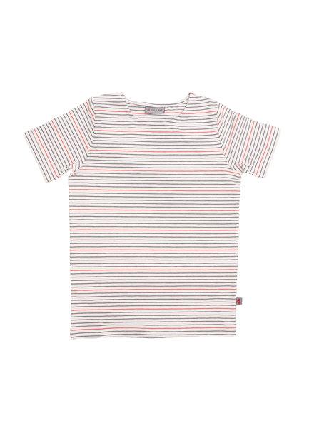 Froy & dind T-shirt Bas | Stripes marine