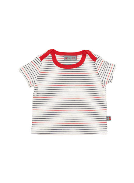 Froy & dind T-shirt Theo | Stripes marine