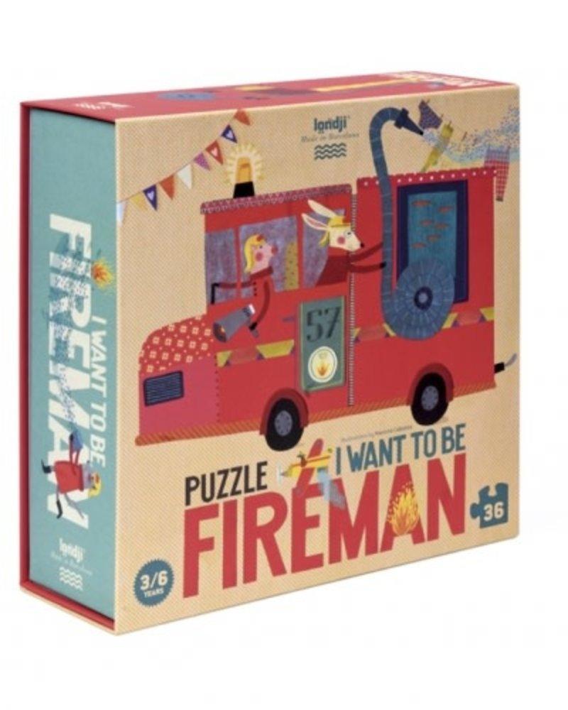 Londji I want to be ... Fireman | Puzzel