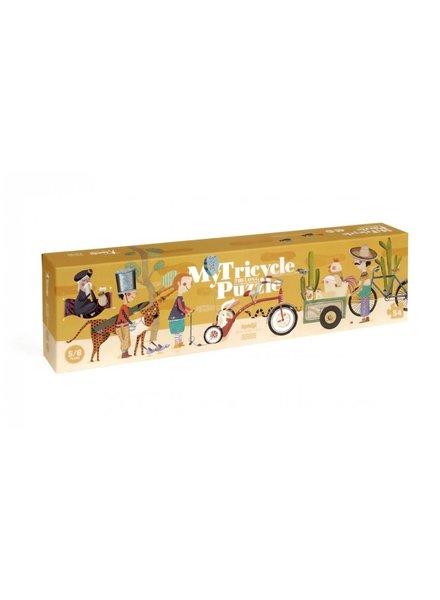 Londji My Tricycle - Puzzel -54st.