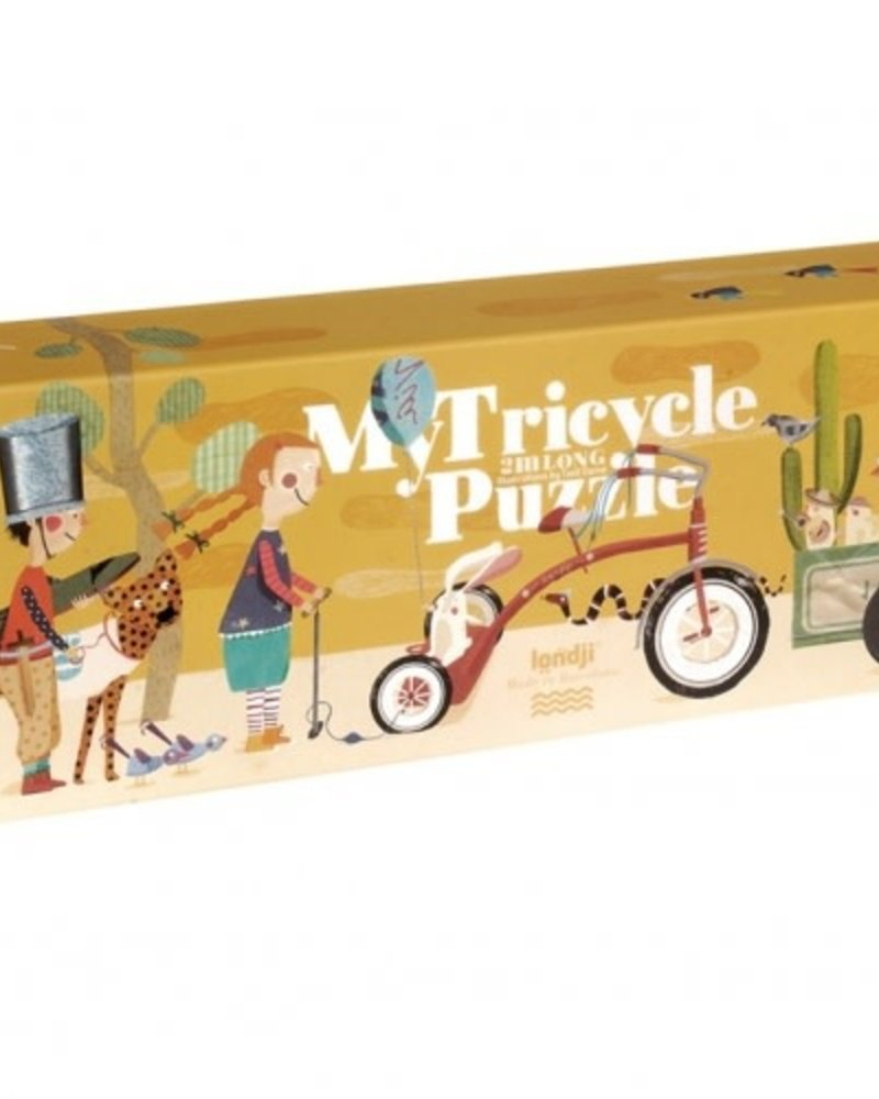 Londji My Tricycle - Puzzel
