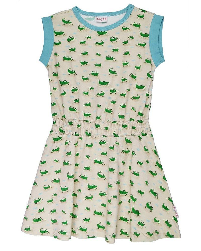 ba*ba babywear Cindy kleedje | Grasshopper