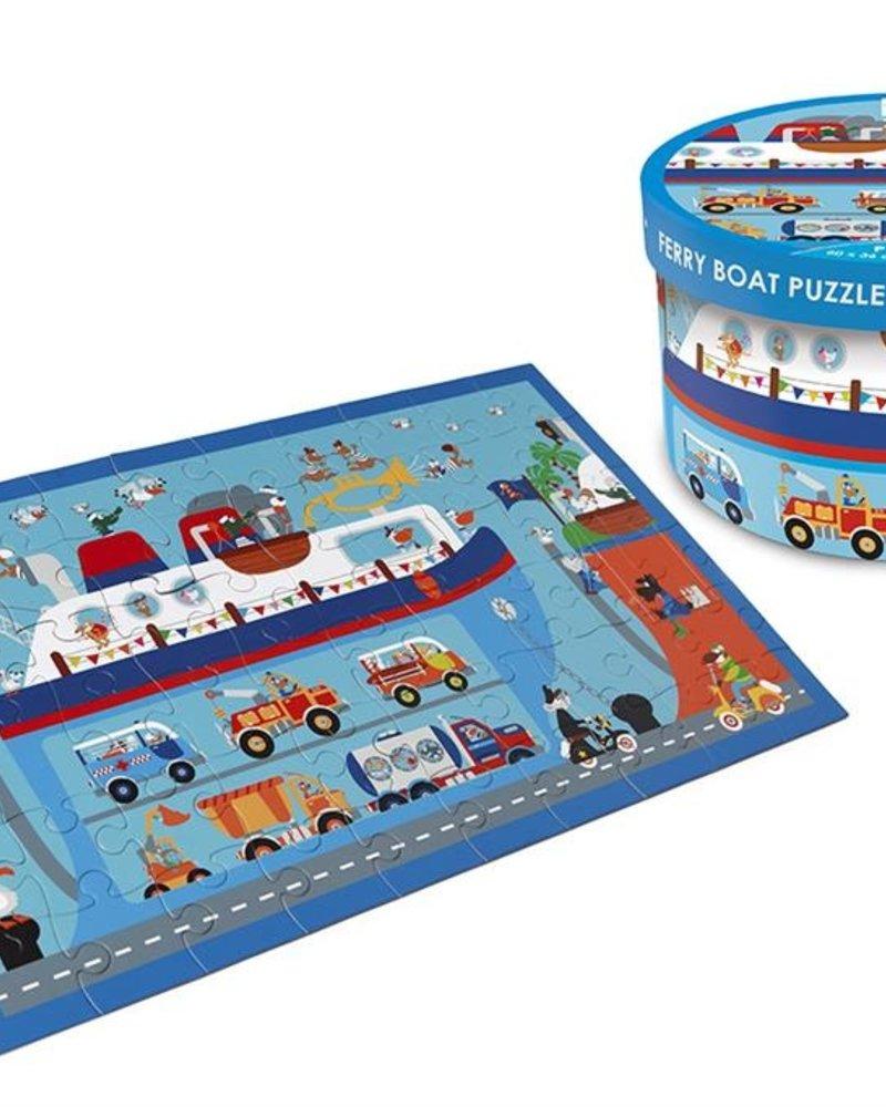 Scratch Puzzel ferryboot