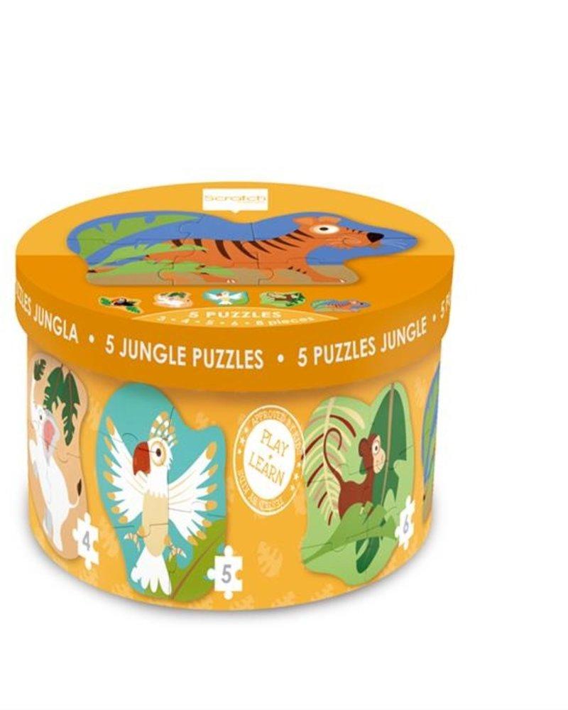 Scratch Beginnerspuzzels Jungle