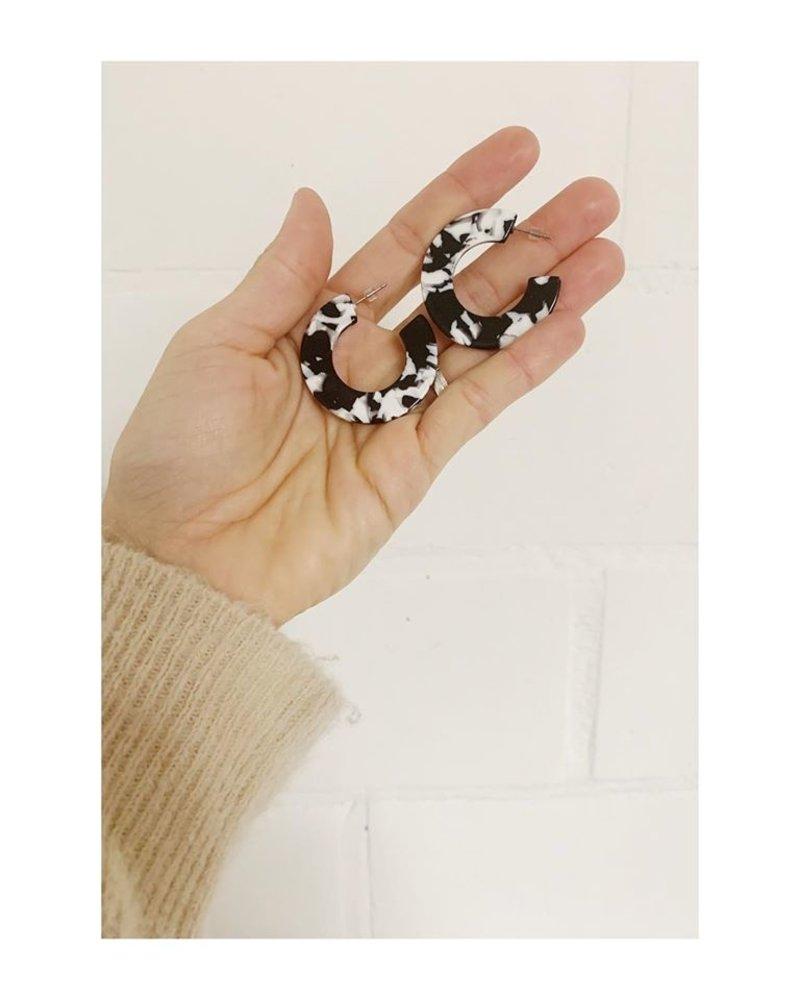 Studio Peloeze Black & white ring