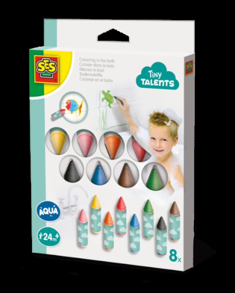 Ses Creative Kleuren in bad - 8 kleurtjes