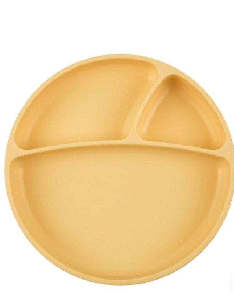 MiniKOiOi Vakjesbord met zuignap - Geel