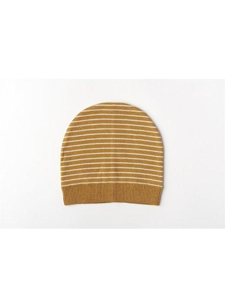 Mundo Melocotón Muts Organic Knitwear Stripes La Línea Cinnamon