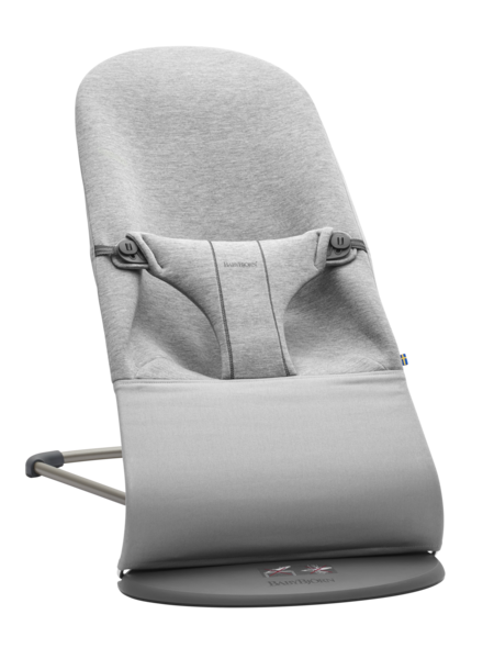 Babybjörn Ergonomische wipper Bliss Jersey Light grey
