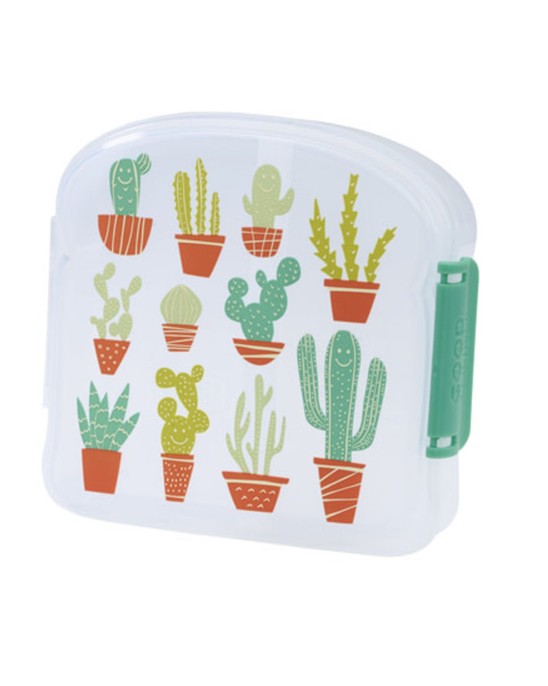 Kleine brooddoos   Happy cactus
