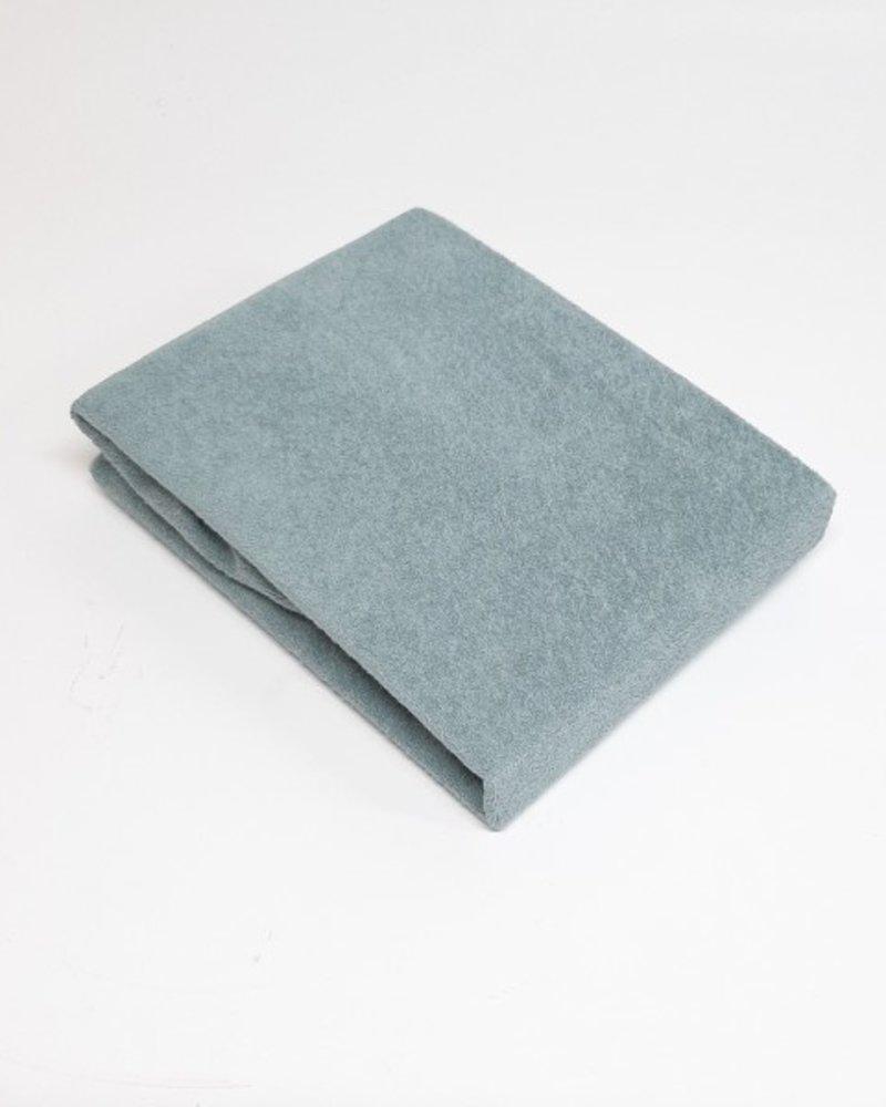 hé baby Badstof waskussenhoes - Mist grey