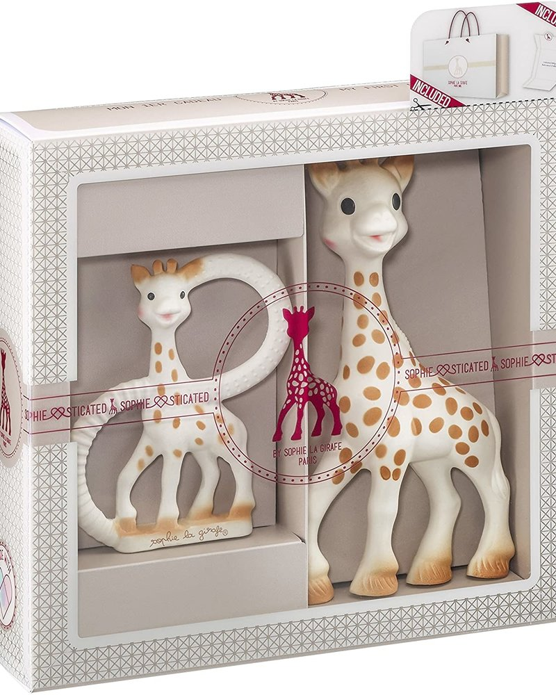 Sophie la girafe Cadeauset Sophie la Girafe + bijtring